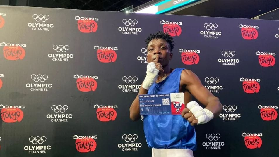 Zambian Flyweight Boxer Patrick Chinyemba is all Set to Make His Olympic Debut