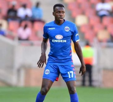 Chipolopolo striker Gamphani Lungu Three Goals For Supersport United