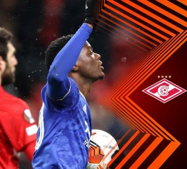 Highlights from the UEFA Europa League group C match between Spartak Moscow and Leicester City As Patson Daka Scores Four