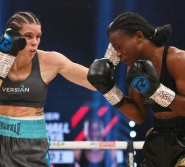 Zambia's Female Boxer Lolita Muzeya Was Convincingly Beaten By Briton Savannah Marshal In The UK
